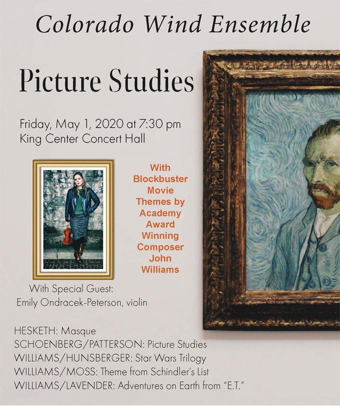 Picture Studies concert flyer